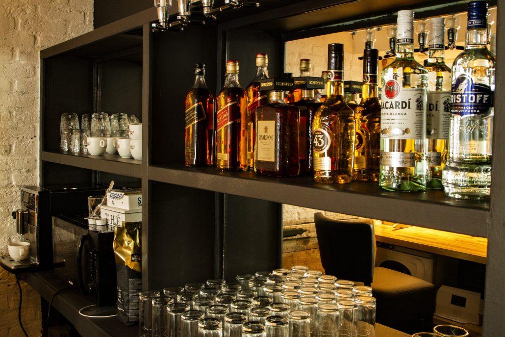 Aanzicht van de bar - Gents&Crooks
