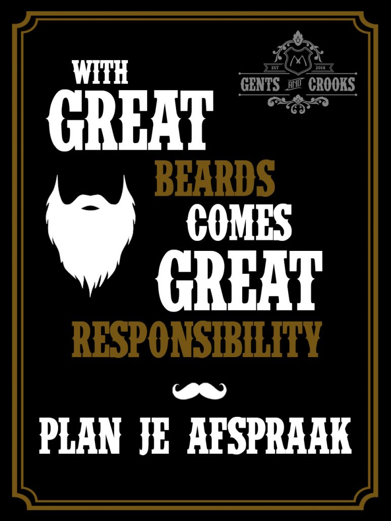 plan je afspraak - Gents and Crooks